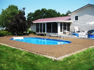 EasyPave is Perfect for Tree and Pole Surrounds